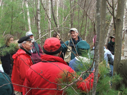 Dr. Dave Kittredge speaks with Massachusetts landowners during a Keystone workshop.